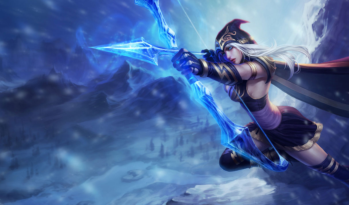 Ashe, personaje del videojuego League of Legends