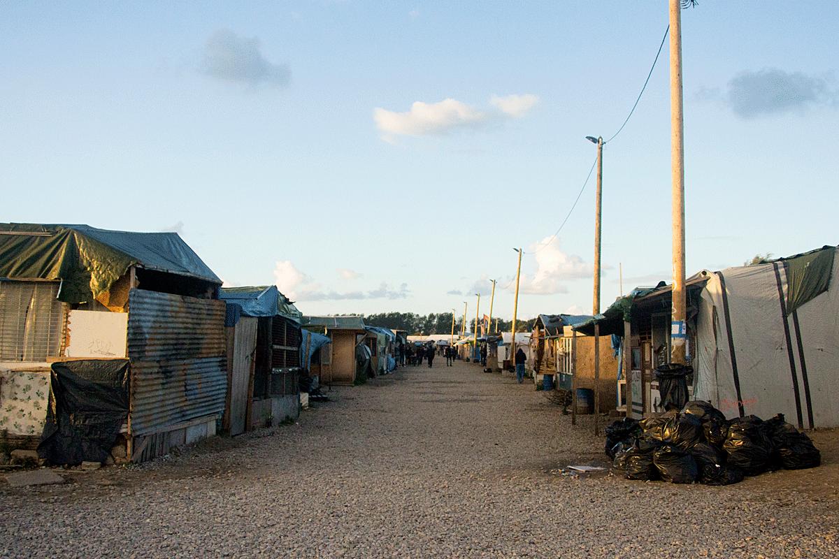 El camp de refugiats de Calais, a França, recentment desallotjat